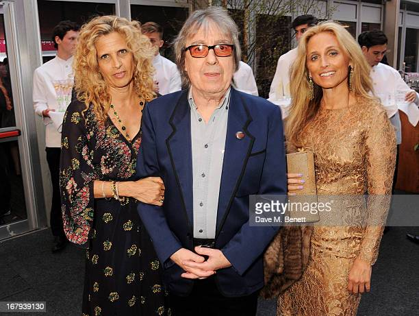 Suzanne Wyman Bill Wyman and Pia Getty attend Gabrielle's Gala 2013 supported by Lorraine Schwartz at Battersea Power Station on May 2 2013 in London...