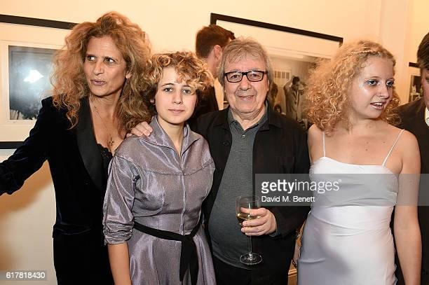 Suzanne Wyman Katherine Wyman Bill Wyman and Jessica Wyman attend a private view of Bill Wyman's photographic exhibition 'Around The World In 80...