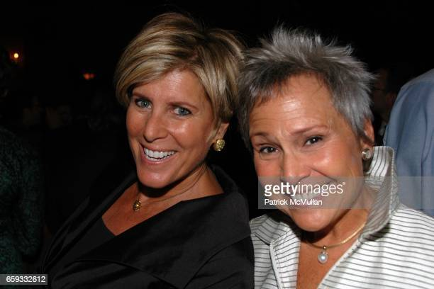 Suze Orman and Kathy Travis attend HLN's Joy Behar Show Launch at The Oak Room on September 23 2009 in New York City
