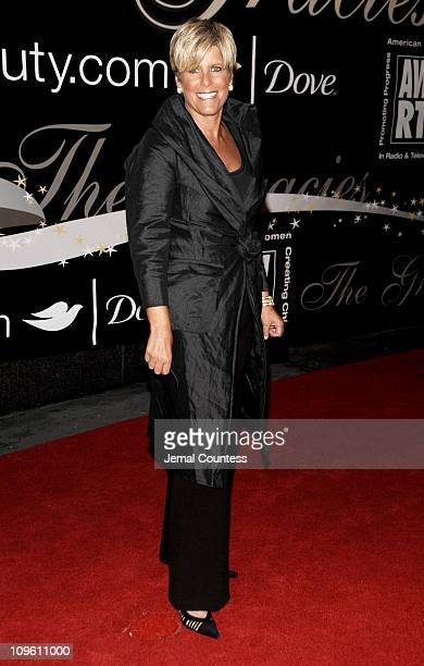 Suze Orman during 31st Annual American Women in Radio Television Gracie Allen Awards Red Carpet at Marriott Marquis in New York City New York United...