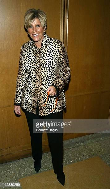 Suze Orman during Suze Orman Signs Her Book Women Money Owning The Power To Control Your Destiny at Riverside Church in New York City February 28...