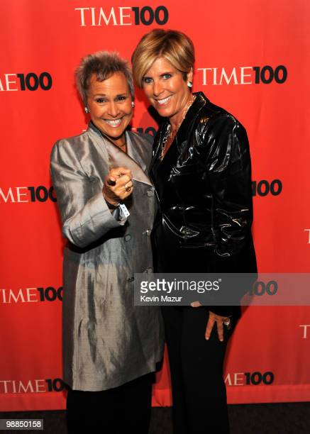Suze Orman Kathy Travis attends Time's 100 most influential people in the world gala at Frederick P Rose Hall Jazz at Lincoln Center on May 4 2010 in...