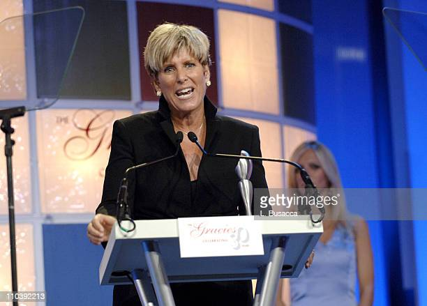 Suze Orman winner of Outstanding Program Host during American Women in Radio Television 30th Annual Gracie Allen Awards Show at New York Marriot...