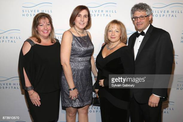 Suzette Giordano Maria Klinga with Guests attend Silver Hill Hospital 2017 Giving Hope Gala at Cipriani 42nd Street on November 13 2017 in New York...