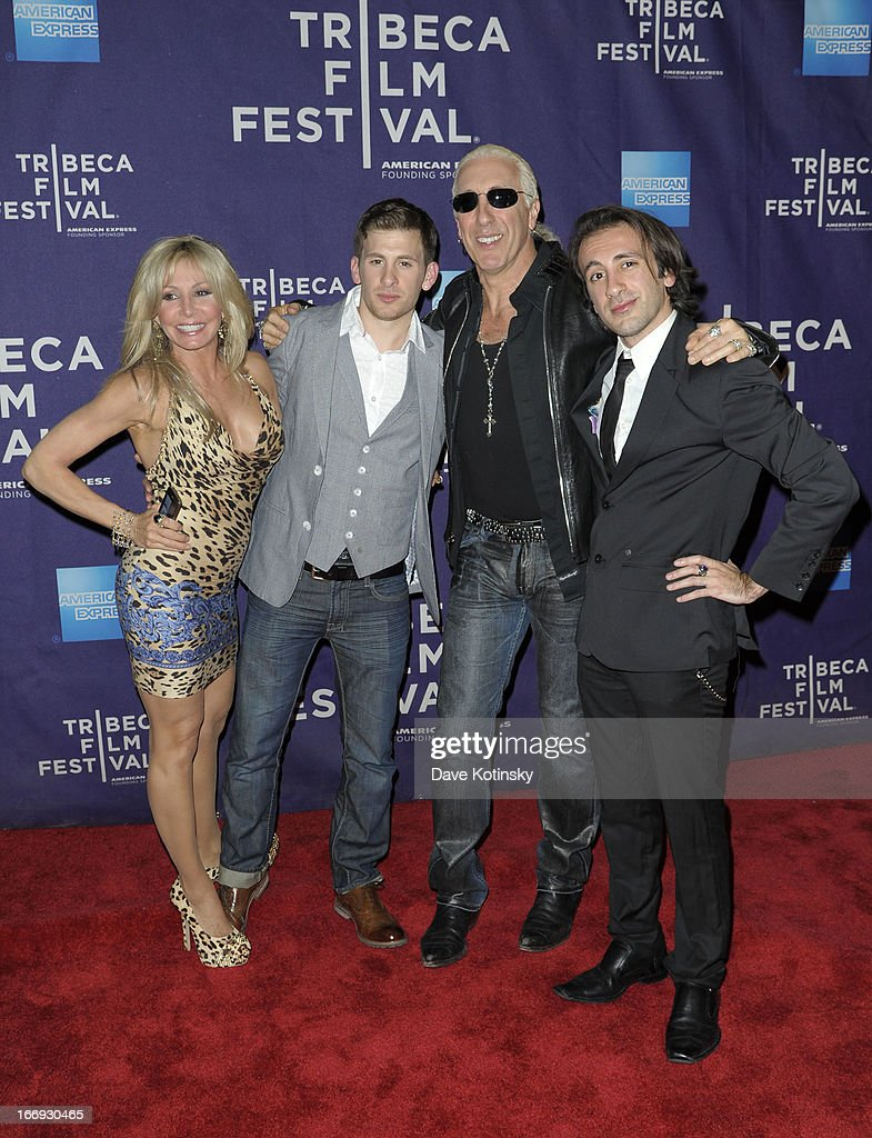 Suzette Snider, Cody Blue Snider, Dee Snider and Shane Snider attend the 'Fool's Day' Shorts Program during the 2013 Tribeca Film Festival on April 18, 2013 in New York City.