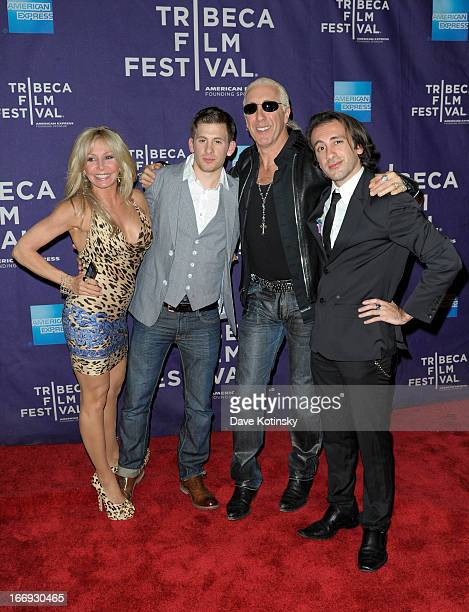 Suzette Snider Cody Blue Snider Dee Snider and Shane Snider attend the Fool's Day Shorts Program during the 2013 Tribeca Film Festival on April 18...