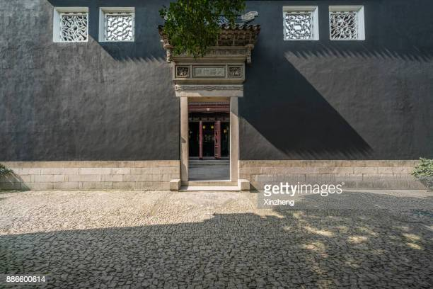 suzhou dongshan engraving buildings - suzhou stock pictures, royalty-free photos & images