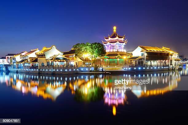 jardins de suzhou - province du jiangsu photos et images de collection