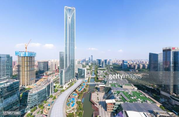 suzhou industrial park cityscape, suzhou, china. - industrial district stock pictures, royalty-free photos & images