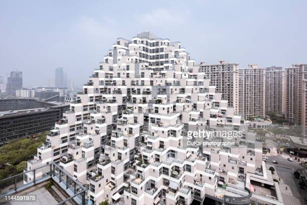 suzhou kunshan future city - small apartment stock pictures, royalty-free photos & images