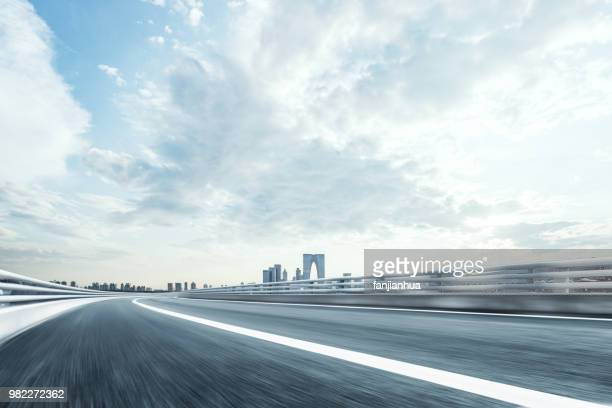suzhou motorway - multiple lane highway stock pictures, royalty-free photos & images
