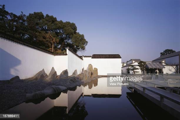 Suzhou Museum, I.M. Pei, Suzhou, China Overall View Of Chinese Garden And Museum, I.M. Pei, China, Architect, .