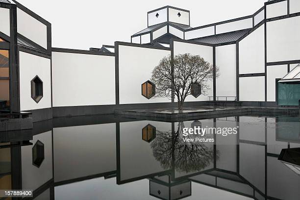 Suzhou Museum, I.M. Pei, Suzhou, China Scenic Vista From Garden With Building And Reflection In Pond, I.M. Pei, China, Architect, .