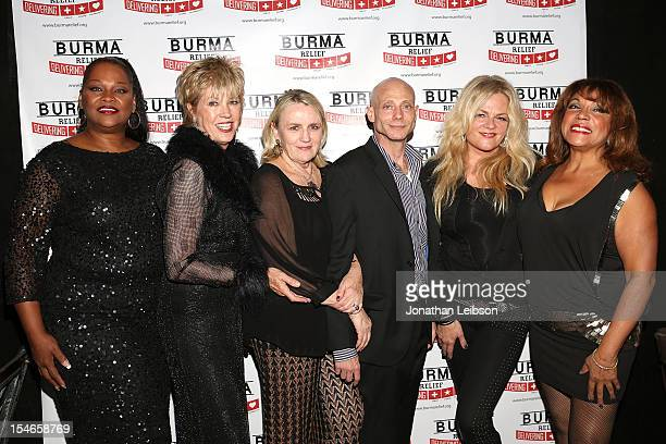 Suzi Lane Chriss Bennett Jeremy Taylor Billie Kaman and Pattie Brooks attend the Burma Relief Ball Annual Fundraiser With Dance Performance By Lay...