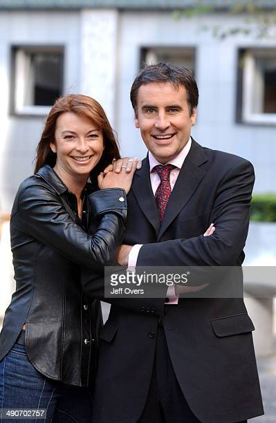 Suzi Perry and Dermot Murnaghan