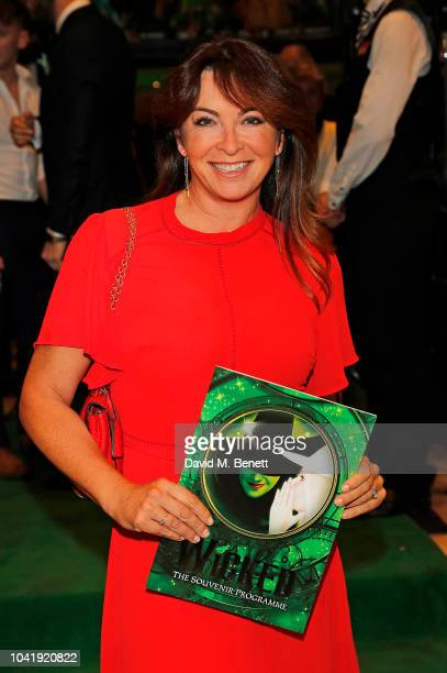 Suzi Perry arrives as hit musical Wicked celebrates 12 years at Apollo Victoria Theatre on September 27 2018 in London England