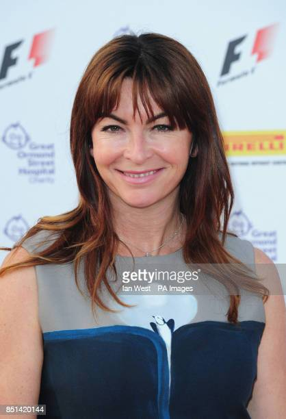 Suzi Perry arrives at the F1 Party in aid of Great Ormond Street Hospital Children's charity The party marks the official launch of the Formula 1...