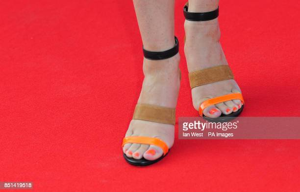Suzi Perry arriving at the F1 Party in aid of Great Ormond Street Hospital Children's charity at Old Billingsgate London PRESS ASSOCIATION Photo...