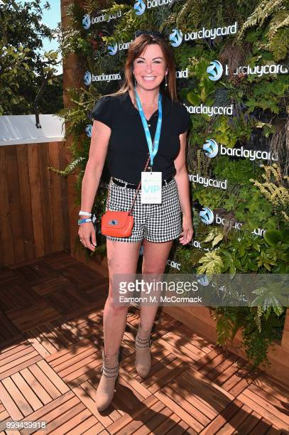 Suzi Perry attends as Barclaycard present British Summer Time Hyde Park at Hyde Park on July 15 2018 in London England