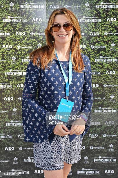 Suzi Perry attends Barclaycard presents British Summer Time Hyde Park at Hyde Park on June 30 2017 in London England