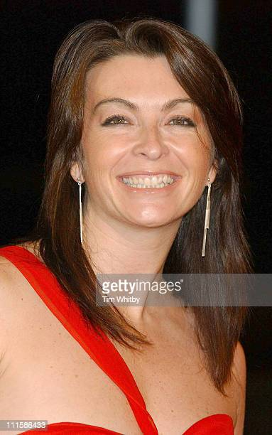 Suzi Perry during 2005 BBC Sports Personality of the Year at BBC Television Centre in London Great Britain