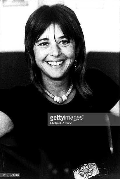 Suzi Quatro portrait London July 1975