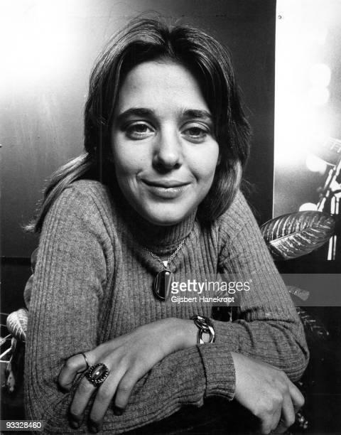 Suzi Quatro posed in Amsterdam Netherlands in 1972