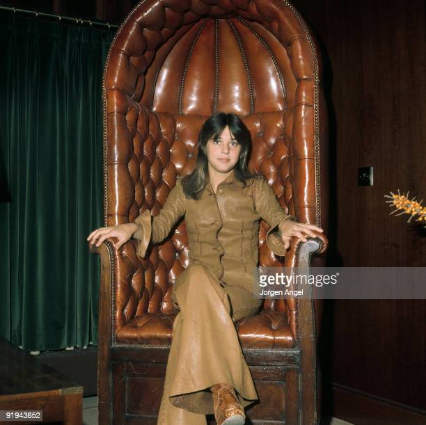 Suzi Quatro poses in September 1975 in Copenhagen Denmark