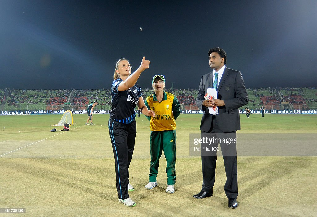 New Zealand Women v South Africa Women - ICC Womens World Twenty20 Bangladesh 2014