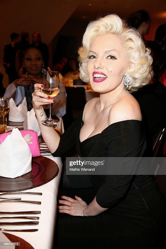 Suzie Kennedy attends the Lambertz monday night pre-dinner on January 26, 2014 in Cologne, Germany.