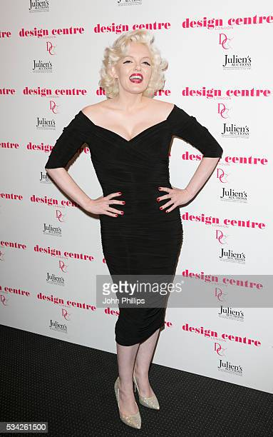 Suzie Kennedy attends the Marilyn Monroe Legacy of a Legend launch party at Design Centre Chelsea Harbour>> at Design Centre on May 25 2016 in London...