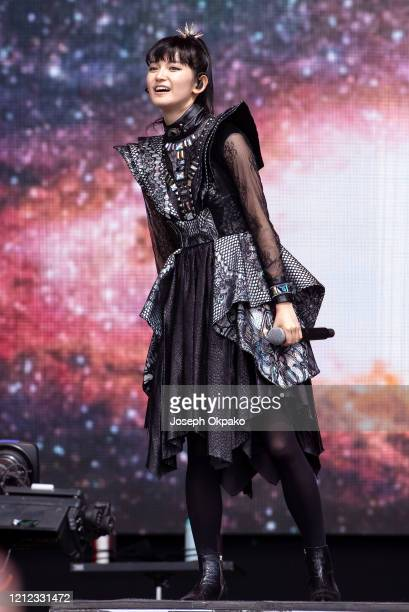 Suzuka Nakamoto aka Sumetal of Babymetal performs at The Other Stage during day five of Glastonbury Festival at Worthy Farm Pilton on June 30 2019 in...