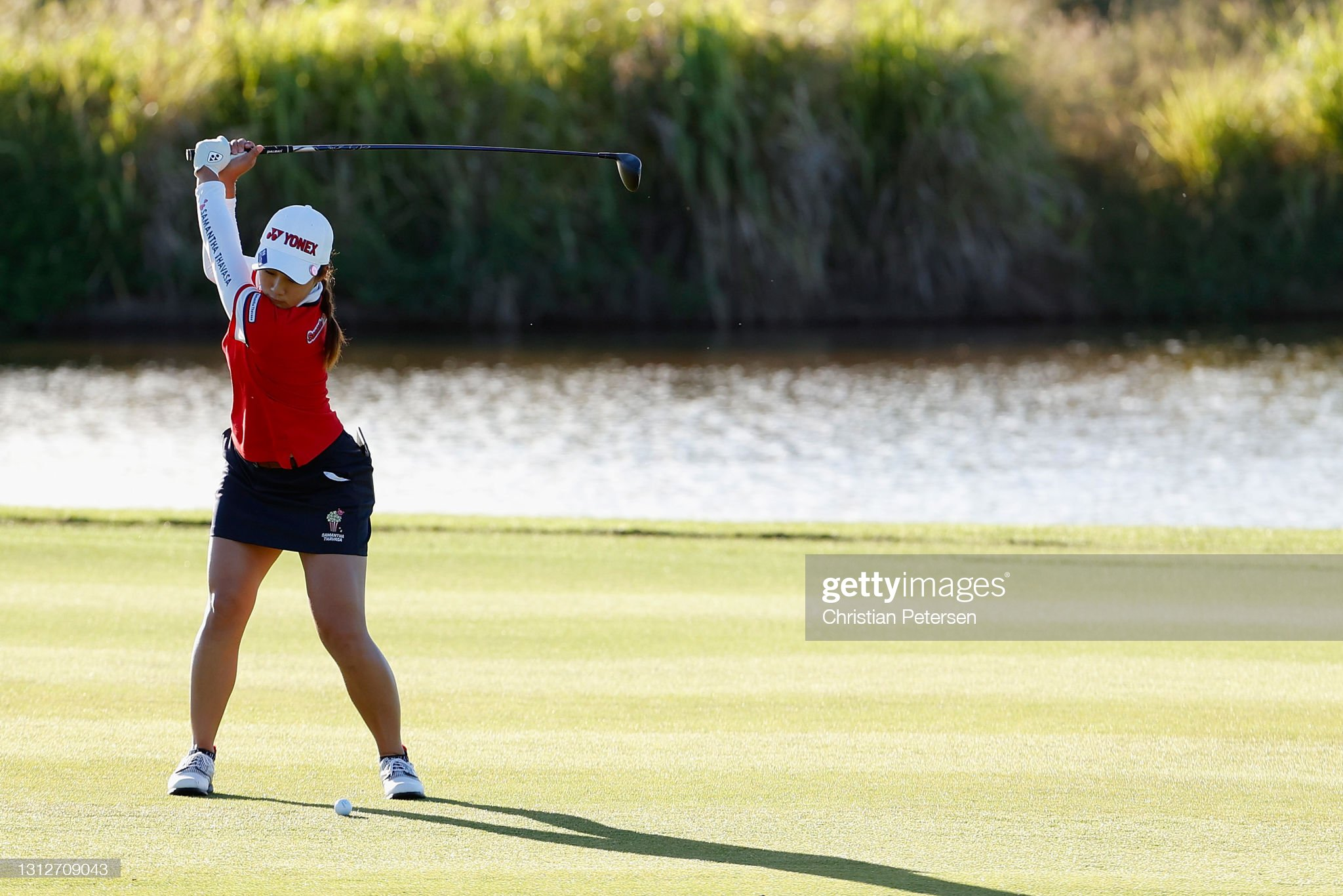 https://media.gettyimages.com/photos/suzuka-yamaguchi-of-japan-plays-her-second-shot-on-the-first-hole-picture-id1312709043?s=2048x2048