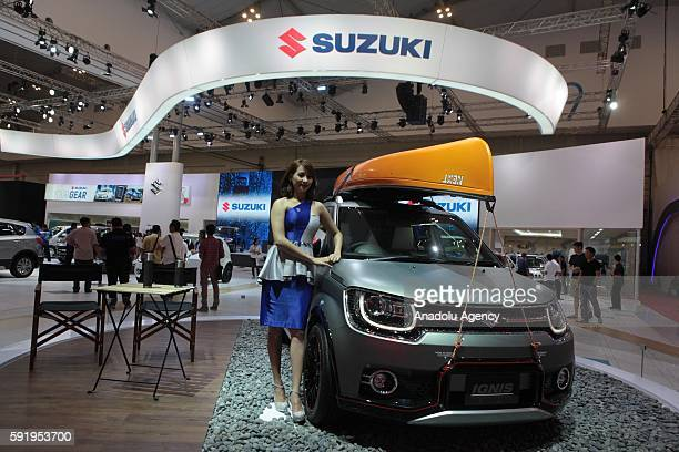 Suzuki Ignis vehicle is seen at the Indonesia International Auto Show in Tangerang near Jakarta Indonesia August 19 2016