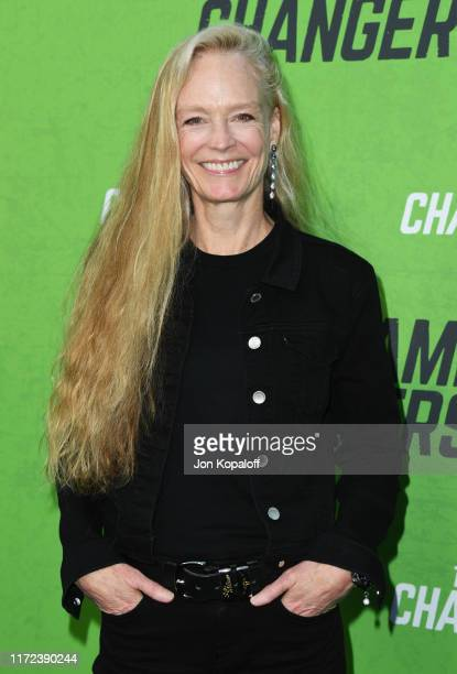 """Suzy Amis attends the LA Premiere Of """"The Game Changers"""" at ArcLight Hollywood on September 04, 2019 in Hollywood, California."""