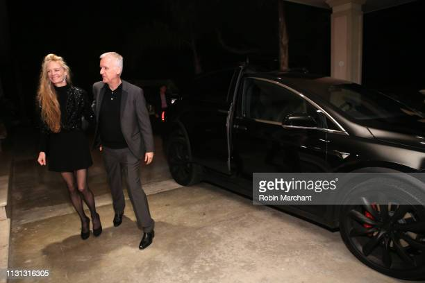 Suzy Amis Cameron and James Cameron attend Suzy Amis Cameron's 10-Year Anniversary Of RCGD Celebration on February 21, 2019 in Beverly Hills,...