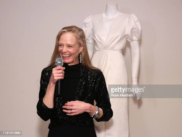 Suzy Amis Cameron attends Suzy Amis Cameron's 10-Year Anniversary Of RCGD Celebration on February 21, 2019 in Beverly Hills, California.