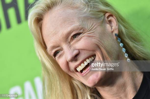 """Suzy Amis Cameron attends the LA Premiere of """"The Game Changers"""" at ArcLight Hollywood on September 04, 2019 in Hollywood, California."""