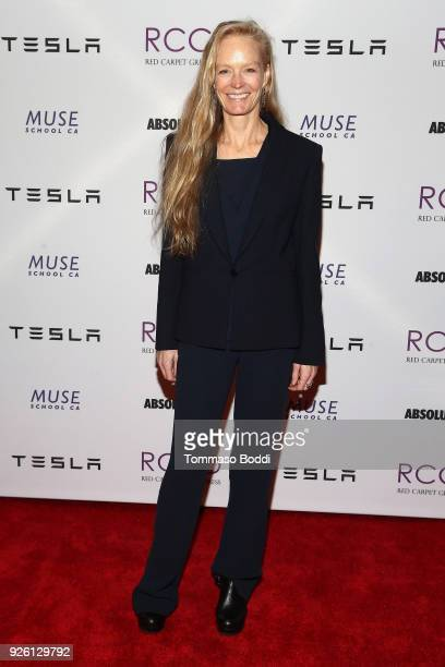 Suzy Amis Cameron attends the Suzy Amis Cameron Hosts The Red Carpet Green Dress 9th Annual PreOscars Celebration at Private Residence on March 1...