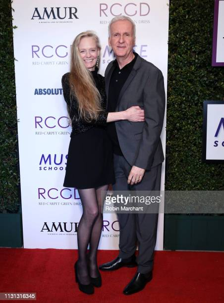 Suzy Amis Cameron Suzy Amis Cameron and James Cameron attend Suzy Amis Cameron's 10-Year Anniversary Of RCGD Celebration on February 21, 2019 in...
