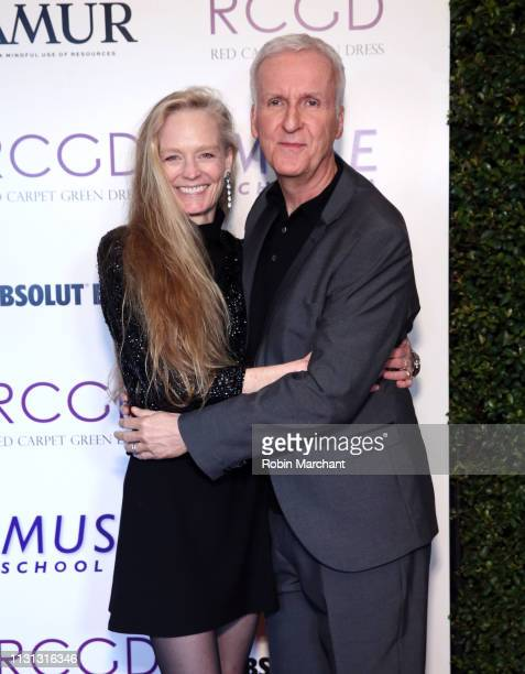 Suzy Amis Cameron Suzy Amis Cameron and James Cameron attend Suzy Amis Cameron's 10Year Anniversary Of RCGD Celebration on February 21 2019 in...
