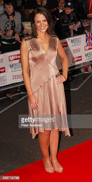 Suzy Amy arrives at the Daily Mirror Pride of Britain Awards 2006 at ITV Television Centre in London