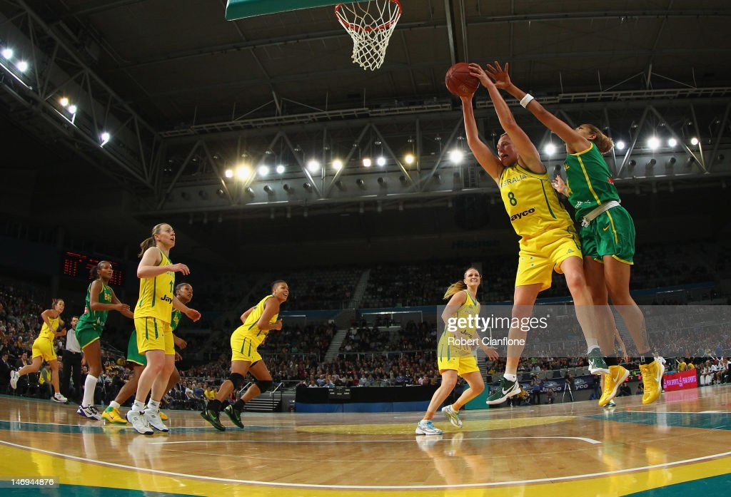 Australian Opals v Brazil: Game 1