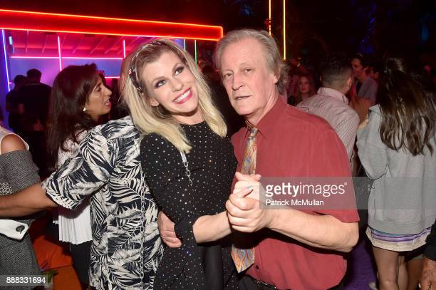 Suzy Buckly and Patrick McMullan attends the Prada Double Club Miami A Carsten Holler Project at Prada Design District on December 5 2017 in Miami...