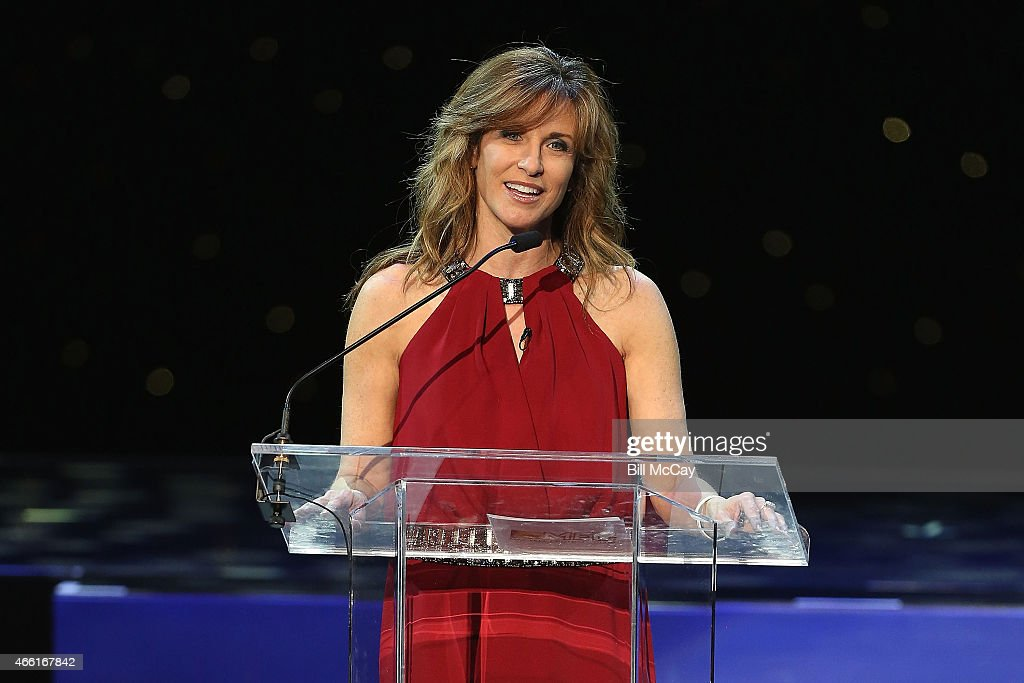 Suzy Colber attends the 78th Annual Maxwell Football Club Awards Gala Press Conference at the Tropicana Casino March 13, 2015 in Atlantic City, New Jersey.