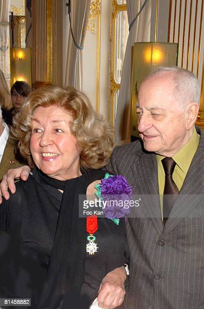 Suzy Delair and Pierre Berge