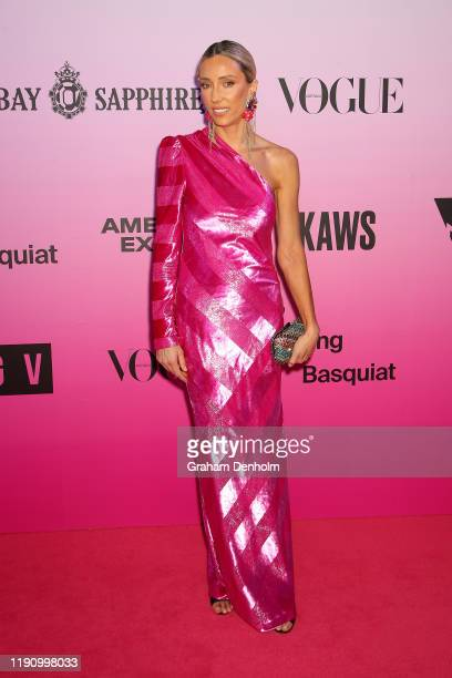 Suzy Eskander attends the NGV Gala 2019 at the National Gallery of Victoria on November 30 2019 in Melbourne Australia