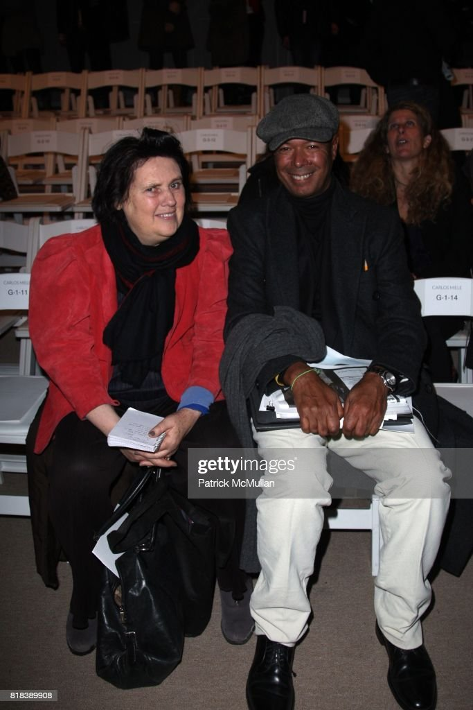 Suzy Menkes and Michael Roberts attend CARLOS MIELE Fall 2010 Collection at Bryant Park Tents on  sc 1 st  Getty Images & Patrick McMullan Archives Pictures | Getty Images