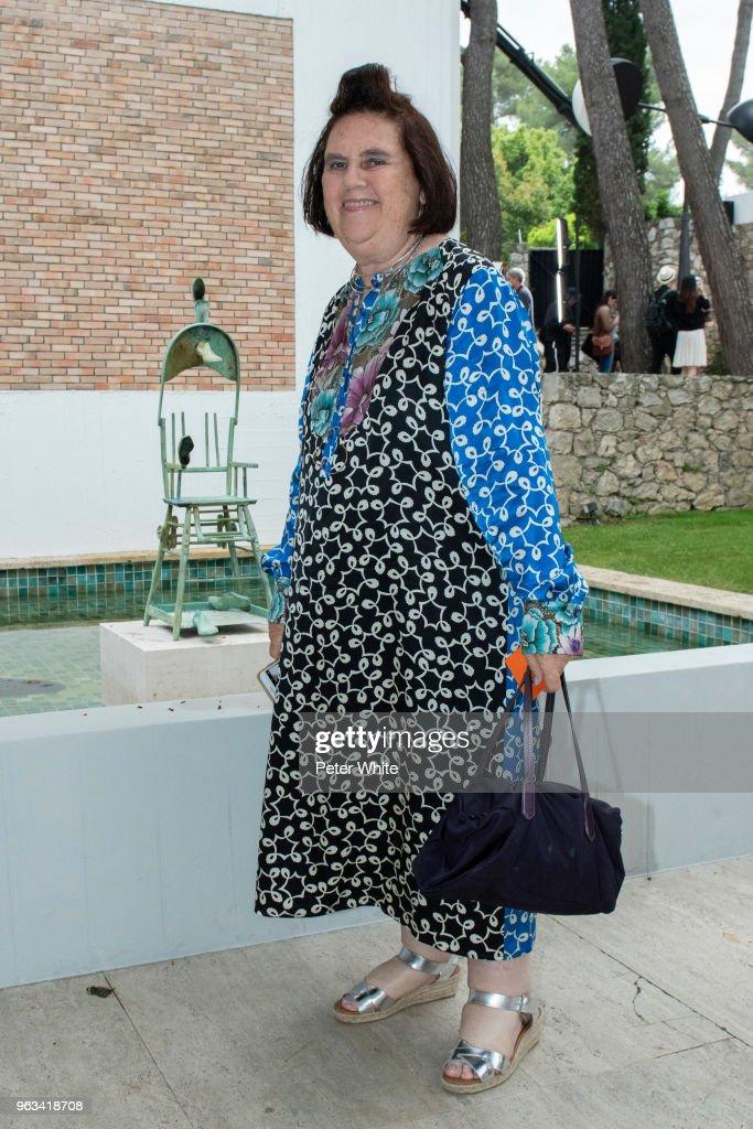 Louis Vuitton 2019 Cruise Collection : Front Row : Nachrichtenfoto