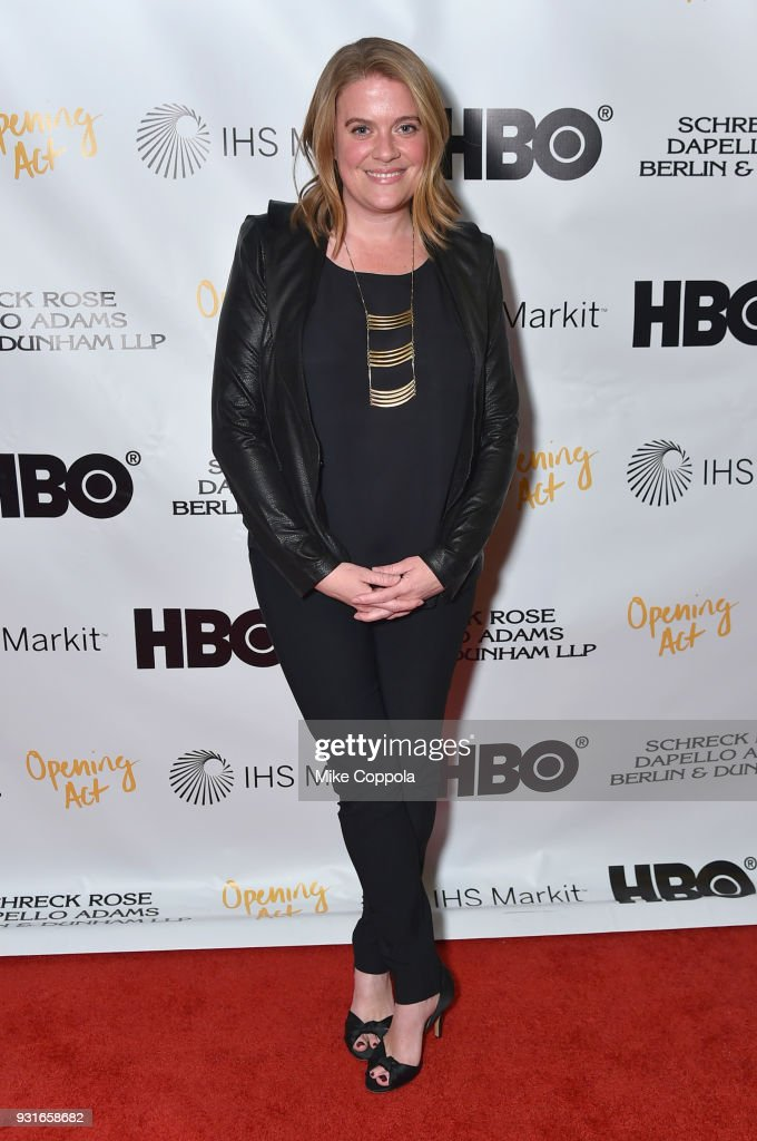 Suzy Myers Jackson attends Opening Act's 12th Annual Benefit Play Reading 'Hear Me Here' At New World Stages on March 13, 2018 in New York City.